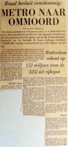 19690103 Metro naar Ommoord