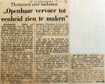 19690115 Openbaar vervoer tot eenheid maken (Rotterdammer)