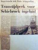 19690117 Tramtijdperk voor Schiebroek ingeluid