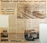 19690127 Tramlijn 5 zaterdag open voor publiek