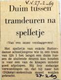 19690227 Duim tussen tramdeuren na spelletje