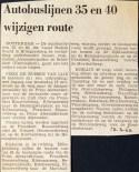 19690313 Lijn 35 en 40 andere route.