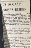 19690313 Lijn 40 gaat anders rijden.