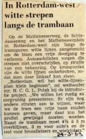 19690324 In Rotterdam-west witte strepen langs trambaan