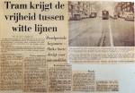 19690324 Tram krijgt vrijheid tussen wittelijnen