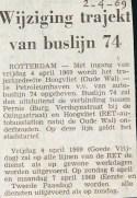 19690402 Wijziging lijn 74.