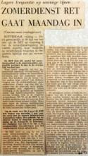 19690502 Zomerdienst RET gaat maandag in