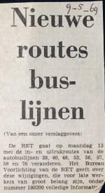 19690509 Nieuwe routes buslijnen.