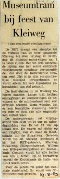 19690514 Museumtram bij feest Kleiweg