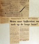 19690617 Metro Spijkenisse nu toch op lange baan