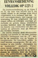 19690626 Eenmansbediening volledig op lijn 2