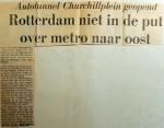 19690726 Rotterdam niet in de put over metro naar Oost