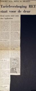 19691002 Tariefsverhoging RET voor de deur