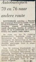 19700131 Lijn 70 en 76 andere route.