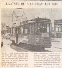 19700428 Laatste rit tram 1943.