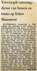 19700429 Vervroegde zaterdagdienst op linker maasoever