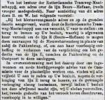 18790704 Adres lijn Beurs - Hoflaan. (RN)