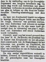 18840519 Opening tram naar Feijenoord. 2 (RN)