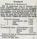 18911001 Ingezonden brief. (RN)