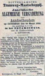 18960315 Jaarvergadering. (AH)