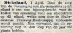 18960404 Opneming Dirksland. (De Tijd)