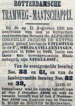 18960817 Uitloting. (RN)