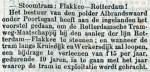 18980224 Stoomtram Albrandswaard. (RN)