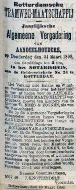 18980318 Aandeelhoudersvergadering. (RN)