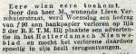 19120302 Verloren - gevonden. (RN)
