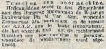 19140119 Vingers afgekneld. (RN)