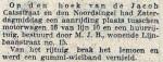 19140512 Aanrijding. (RN)