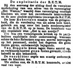 19140515 Exploitatie. (Het Volk)