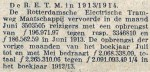 19140702 Vervoerscijfers. (RN)