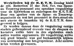 19140707 Openbare vergadering. (Het Volk)