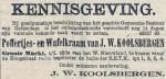 19140905 Kennisgeving. (RN)