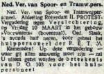 19160308 Oproep. (De Tribune)