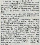 19160314 Hulppersoneel. (RN)