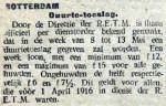 19160506 Duurtetoeslag. (De Tribune)