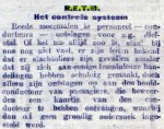 19160603 Controlesysteem. (De Tribune)