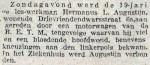 19160725 Ongeval. (RN)