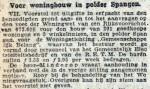 19161201 Woningen Spangen. (RN)