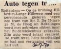 19700730 Auto tegen tram Hillevliet