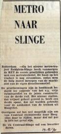 19700819 Metro naar Slinge