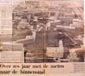 19700827 Over 6 jaar met de metro naar de binnenstad