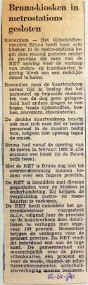 19701012 Brunakiosken in metrostations gesloten