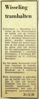 19710731 Wisseling van tramhaltes