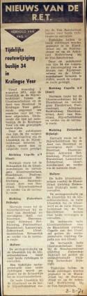 19710808 Nieuws van de RET.