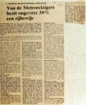 19711021 30 pct metroreizigers heeft rijbewijs