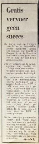 19720104 Gratis OV geen succes.