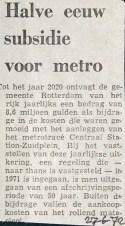 19720627 Halve eeuw subsidie.
